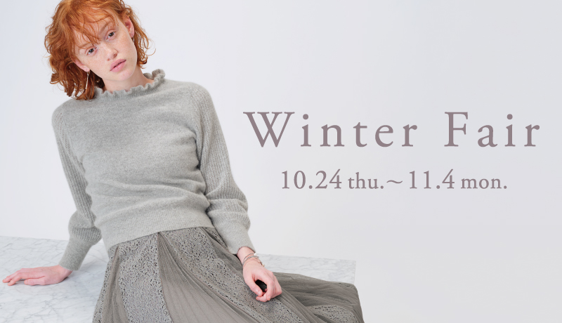 Winter Fair 10.24 thu. ― 11.4 mon.