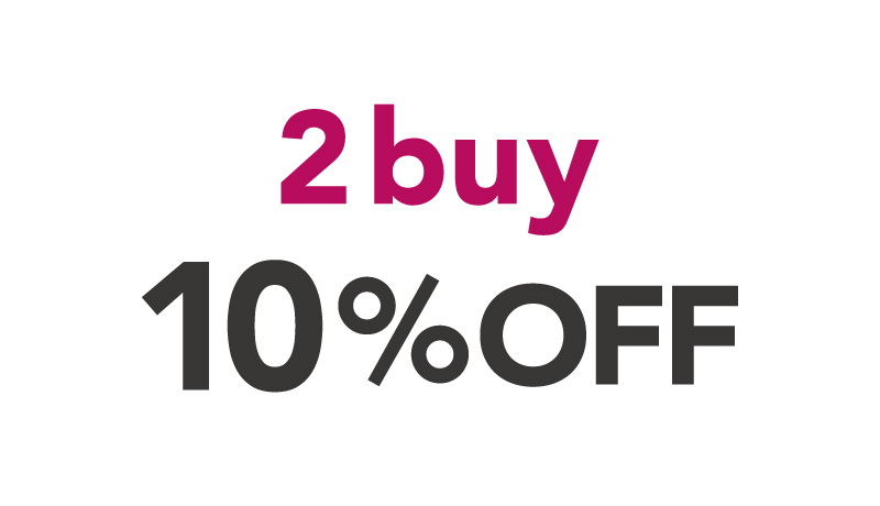 2buy MORE10%OFF!!